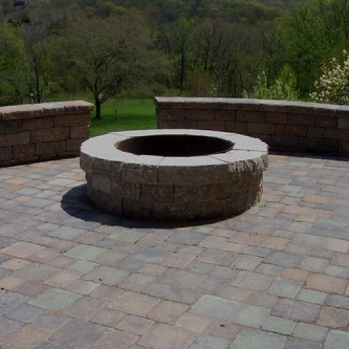 "Paver Patio - Fire Pit - Bench Wall • <a style=""font-size:0.8em;"" href=""http://www.flickr.com/photos/63612657@N05/5808025009/"" target=""_blank"">View on Flickr</a>"