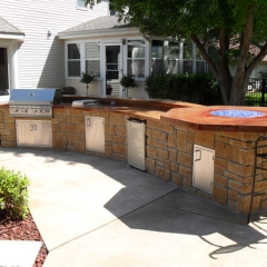 "Outdoor Kitchen • <a style=""font-size:0.8em;"" href=""http://www.flickr.com/photos/63612657@N05/12836541673/"" target=""_blank"">View on Flickr</a>"
