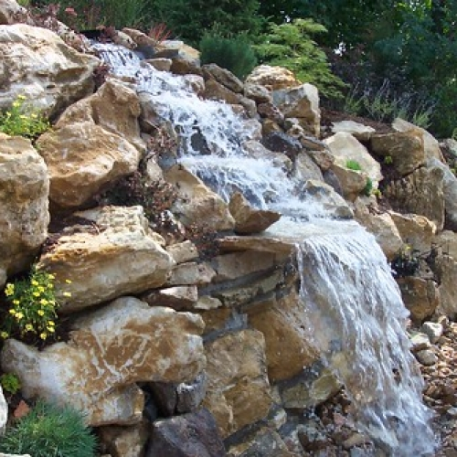 """Water Feature / Boulder wall • <a style=""""font-size:0.8em;"""" href=""""http://www.flickr.com/photos/63612657@N05/6984787279/"""" target=""""_blank"""">View on Flickr</a>"""