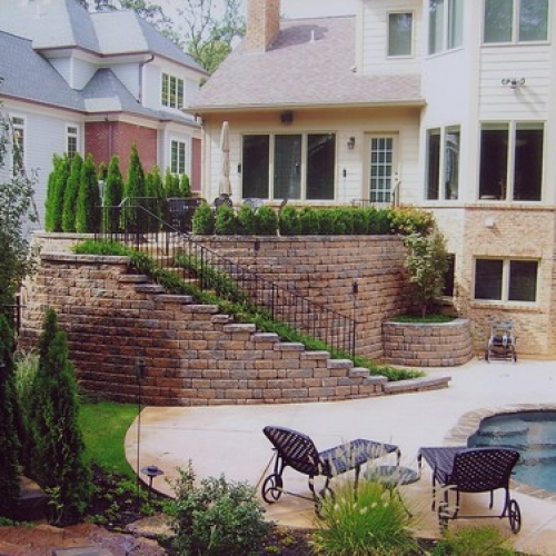 """Landscape / Stone Wall and Steps • <a style=""""font-size:0.8em;"""" href=""""http://www.flickr.com/photos/63612657@N05/7017625601/"""" target=""""_blank"""">View on Flickr</a>"""
