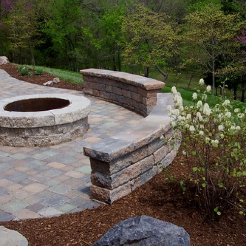 "Fire pit / Stone Sitting Wall • <a style=""font-size:0.8em;"" href=""http://www.flickr.com/photos/63612657@N05/7017520161/"" target=""_blank"">View on Flickr</a>"
