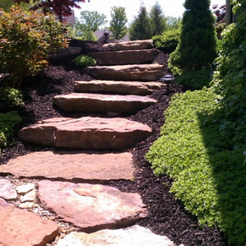 "Stone Ledge Steps • <a style=""font-size:0.8em;"" href=""http://www.flickr.com/photos/63612657@N05/7017534787/"" target=""_blank"">View on Flickr</a>"