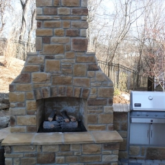 "Fireplace with Wing Walls and Outdoor Counter • <a style=""font-size:0.8em;"" href=""http://www.flickr.com/photos/63612657@N05/12836335713/"" target=""_blank"">View on Flickr</a>"