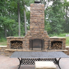 "Fireplace with Wing Walls • <a style=""font-size:0.8em;"" href=""http://www.flickr.com/photos/63612657@N05/12836343513/"" target=""_blank"">View on Flickr</a>"